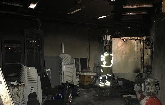 آتش سوزی وحشتناک