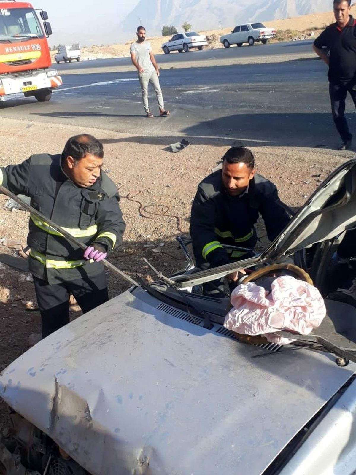 مرگ وحشتناک راننده پراید! + جزئیات بیشتر