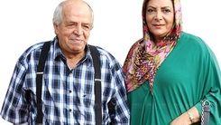 عاشقانه های مهوش وقاری و مرحوم محسن قاضی مرادی لو رفت+فیلم دیده نشده