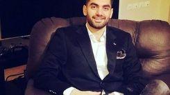 علی کریمی روی تخت بیمارستان /عکس فوتبالیست محبوب بعد از جراحی