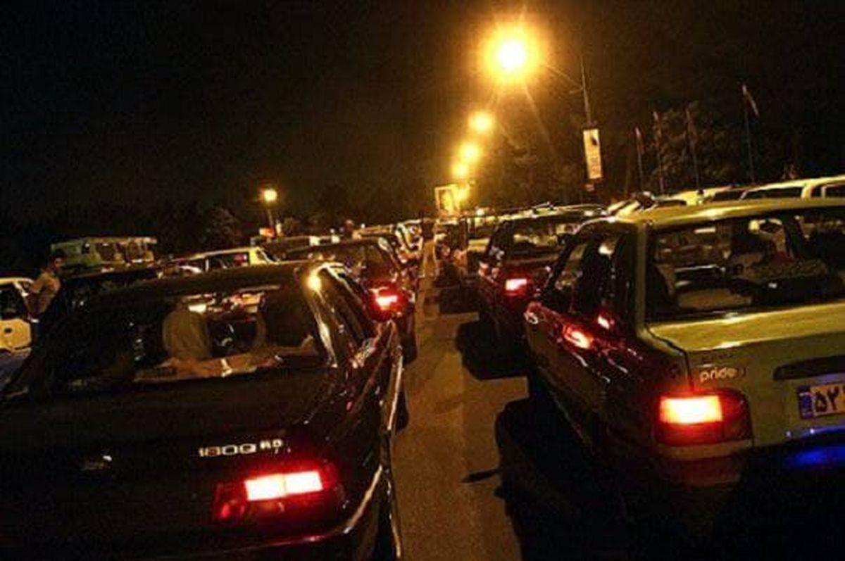 عکس باورنکردنی از جادههای منتهی به شمال در ساعت ۴ بامداد