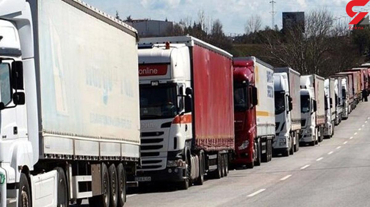 آزادی 2 راننده کامیونی در جمهوری آذربایجان