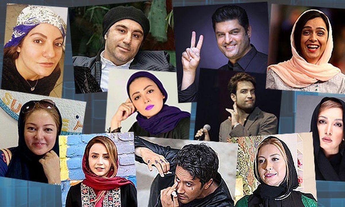 عکس دورهمی بازیگر معروف ایرانی+تصاویر سلبریتی های ایرانی