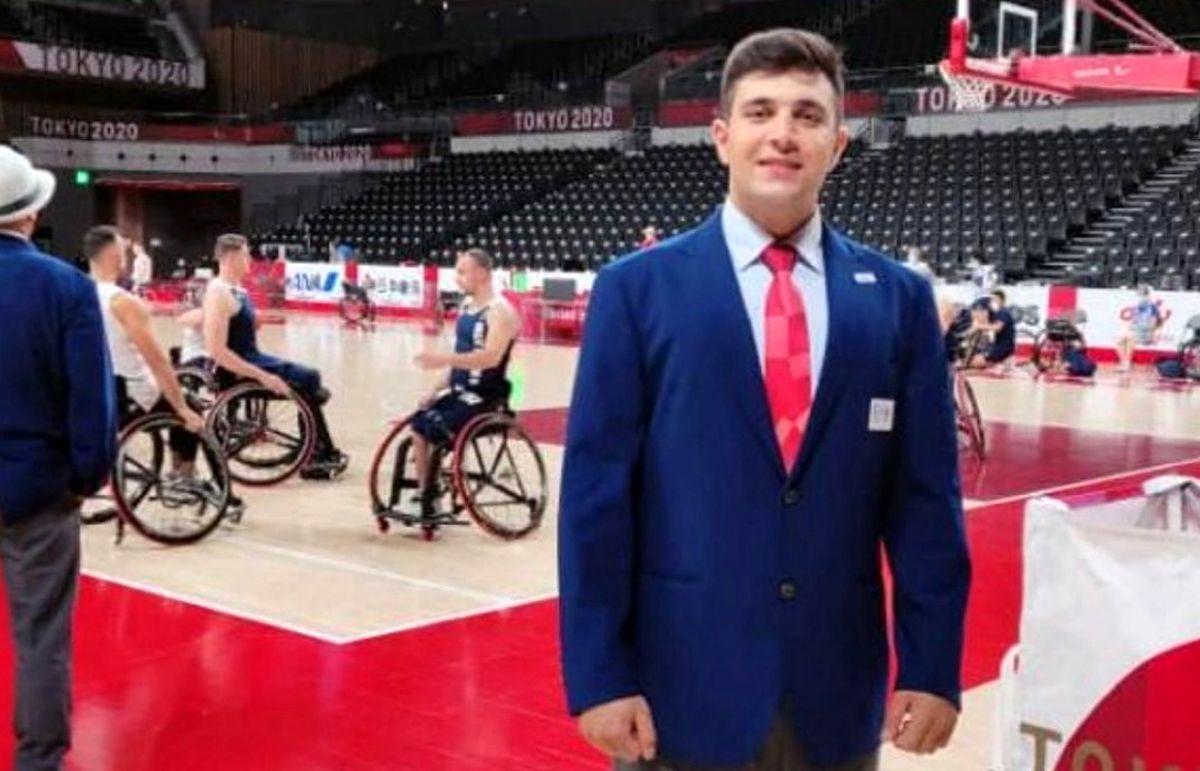 برای اولین بار، یک ایرانی داور پارالمپیک شد