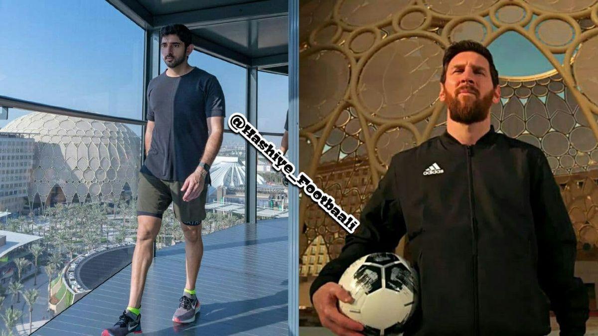 باج میلیون دلاری عجیب دوبی برای حضور مسی! +عکس