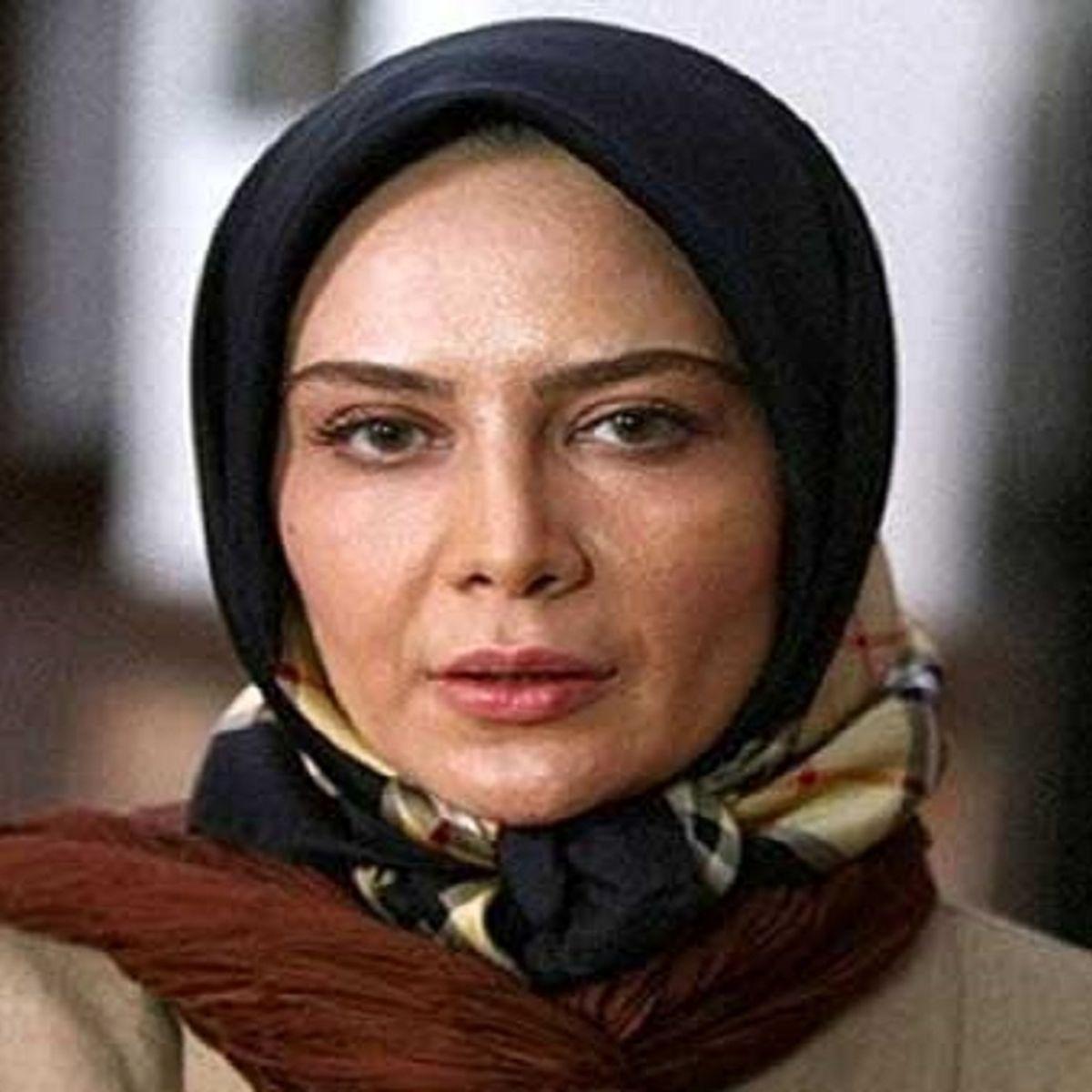 عکس شوکه کننده بازیگر زن ایرانی از پشت صحنه یک فیلم !