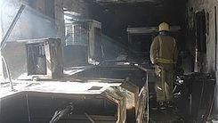 آتش سوزی وحشتناک در پامنار تهران + جزئیات بیشتر