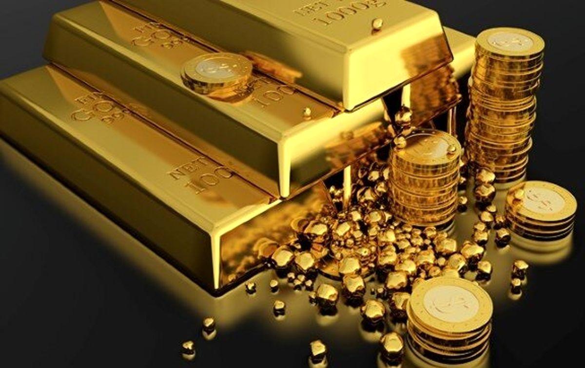 کاهش قیمت طلا در بازار