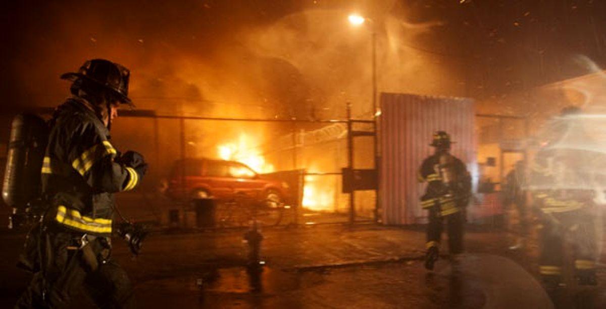 دو مرد جوان زنده زنده در آتش سوختند!+جزئیات بیشتر