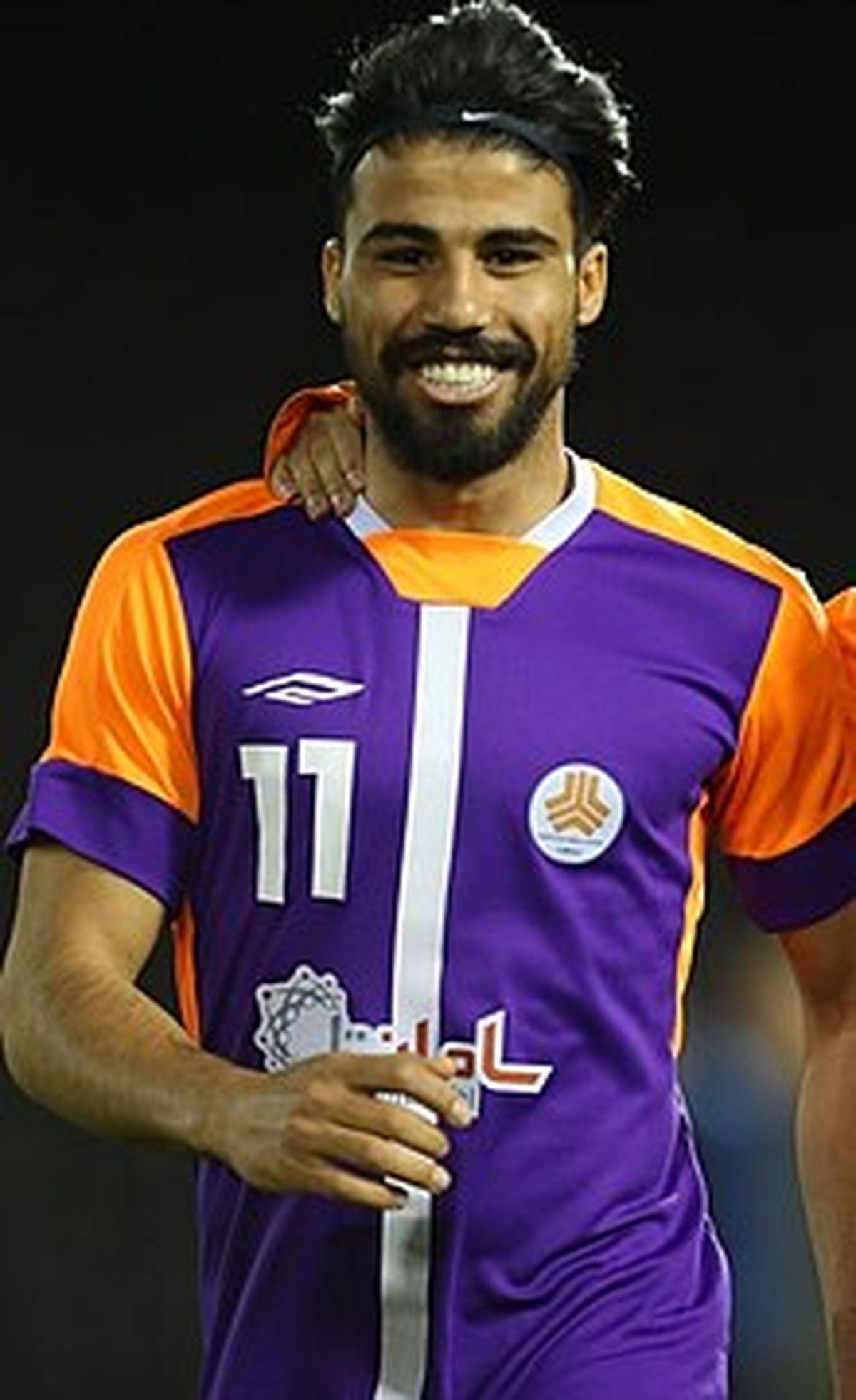 چالش دیدنی فوتبالیست معروف علی دشتی و همسرش +عکس دیده نشده