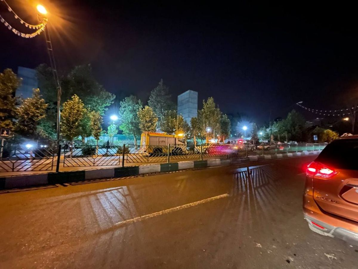 فوری/فیلم لحظه انفجار بمب در تهران همه را شوکه کرد