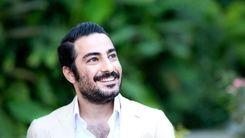 عکی حاشیه سار نوید محمدزاده در پشت صحنه فیلم جدیداش