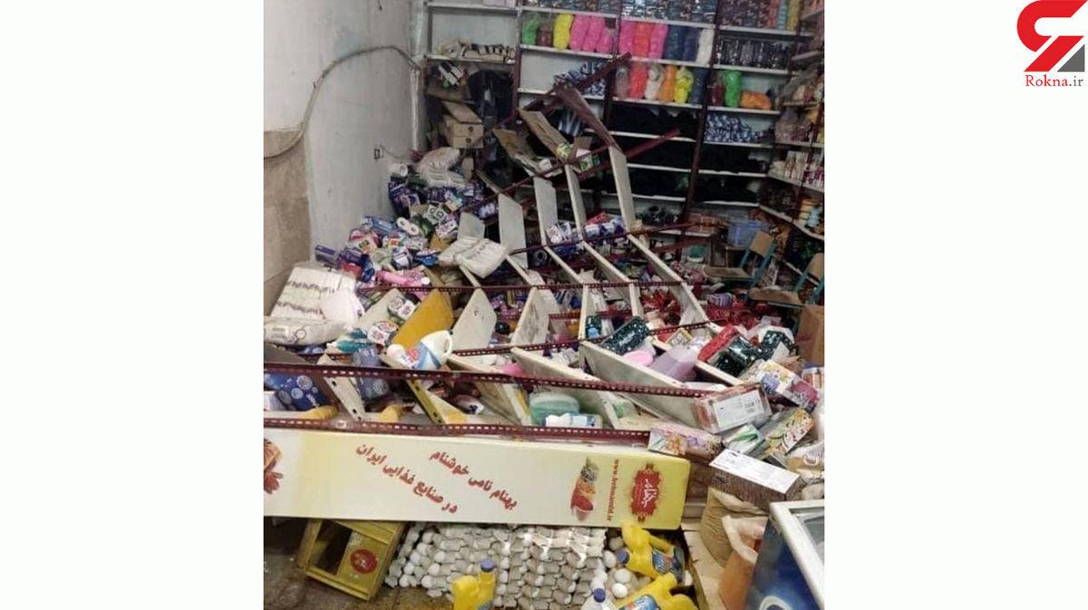 خسارات تکان دهنده زلزله امروز / مردم از وحشت به خیابان ریختند+ عکس