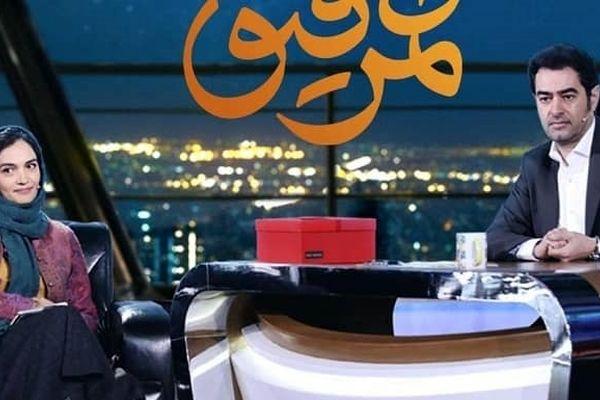 افشاگری میترا حجار در همرفیق/منو شهاب همزادیم!+فیلم دیده نشده