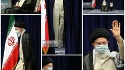 مراسم عزاداری اربعین حسینی با حضور مقام معظم رهبری +عکس