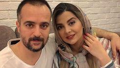 عکس لو رفته از مراسم ازدواج احمد مهران فر و همسرش +عکس دیده نشده