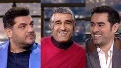 در برنامه همرفیق شاب حسینی چه گذشت / ناگفته های سام درخشانی و پژمان جمشیدی + فیلم
